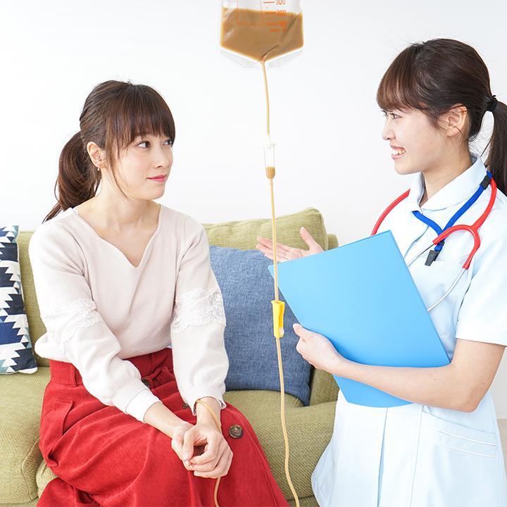 医療的ケアを提供する「看護師」